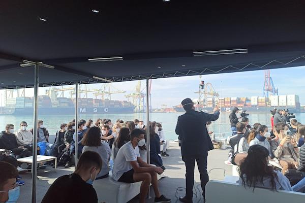 El Puerto de Valencia retoma las visitas a sus instalaciones