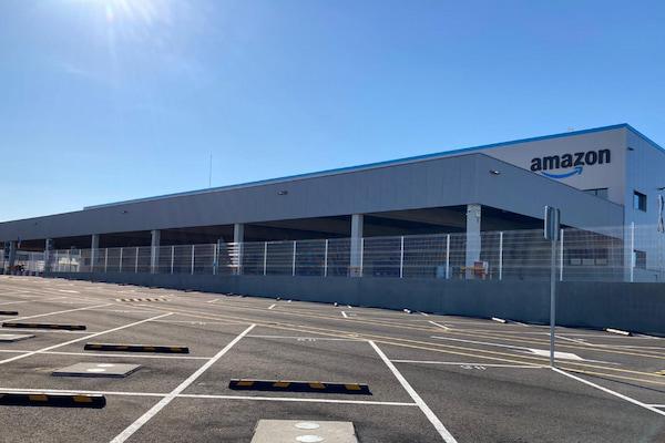 Empieza a operar la nueva estación logística de Amazon en Zaragoza