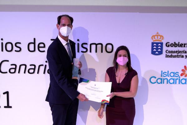 Fred. Olsen, S.A. recibe el Premio de Turismo Islas Canarias 2021 a la Excelencia en el Sector
