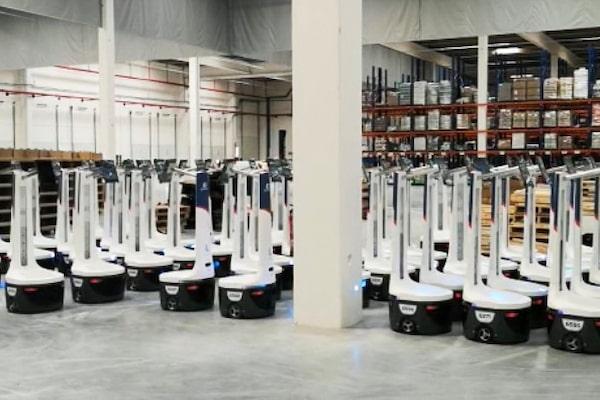 ID Logistics apuesta por la robotización en su nueva planta de Seseña