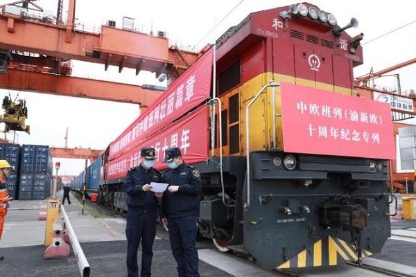 Trenes Europa China