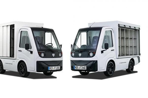 Tropos Motors carrocerías logística urbana