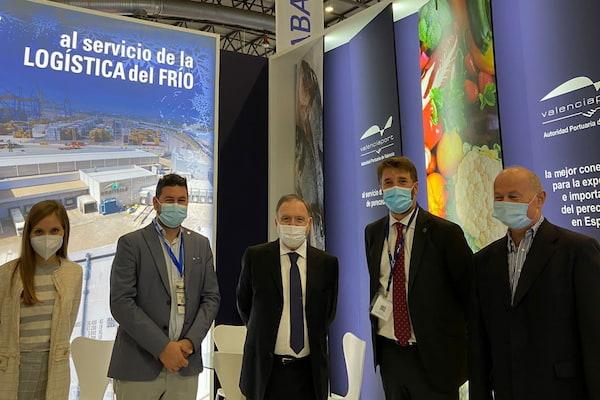 Valenciaport, presente en la Feria Internacional de Productos del Mar Congelado en Vigo
