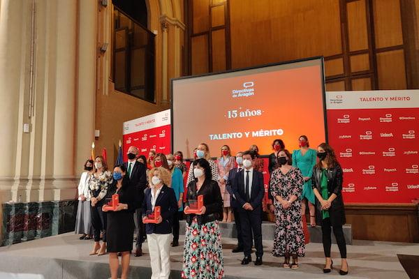 Zaragoza Logistics Center recibe el premio Talento y Mérito de la Asociación Directivas de Aragón