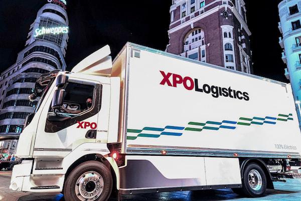 volvo trucks xpologitics camión eléctrico